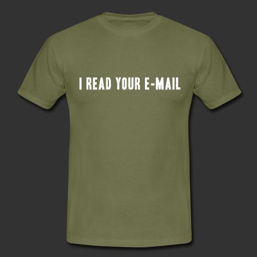 geek iread - T-shirt herr