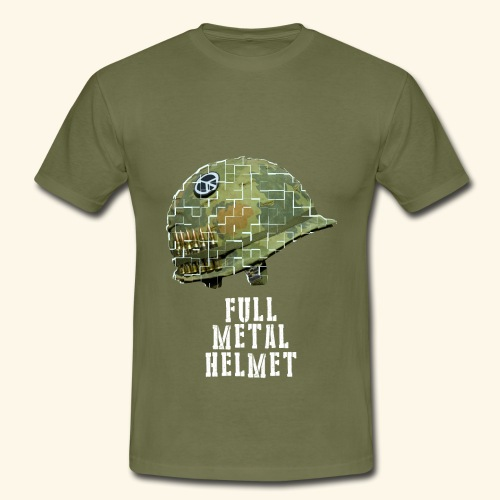 Full Metal Helmet - T-shirt Homme