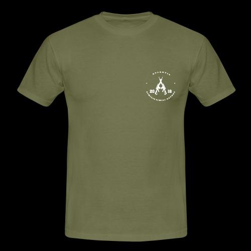 Atlantis weiss vorn - Männer T-Shirt