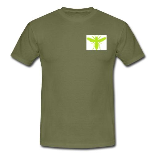 green wasp transfer pic - Men's T-Shirt