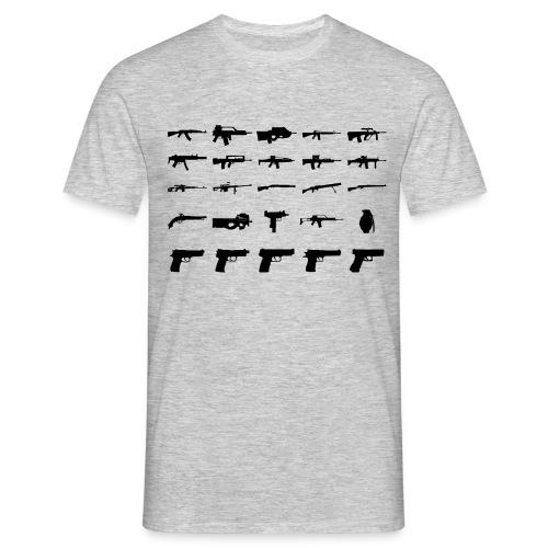 Guns - Männer T-Shirt
