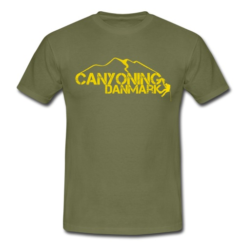 Canyoning Danmark - Herre-T-shirt