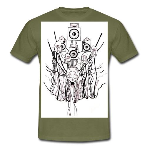Baby Head - Men's T-Shirt