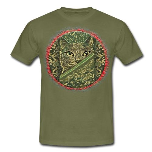 CAT GRACE CAMOUFLAGE - Männer T-Shirt