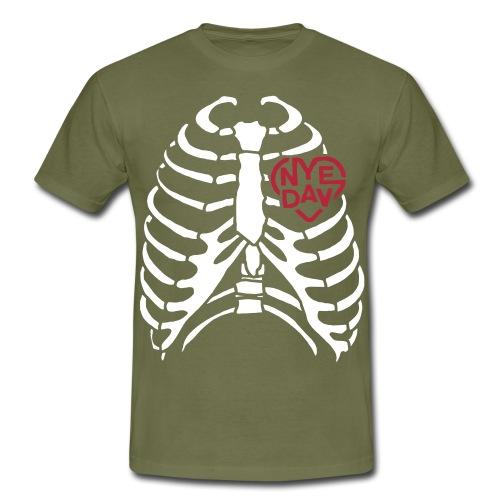 RIBCAGE NYEDAV - Men's T-Shirt