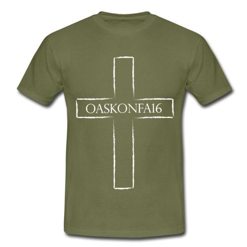 kors gif - T-shirt herr