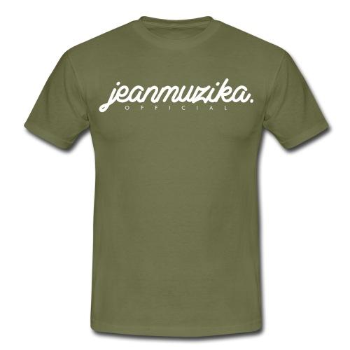 JeanMuzika Festival Bag Schwarz - Männer T-Shirt
