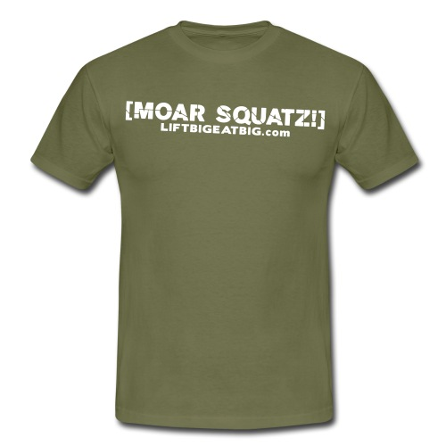 moarsquatxtiny - Men's T-Shirt