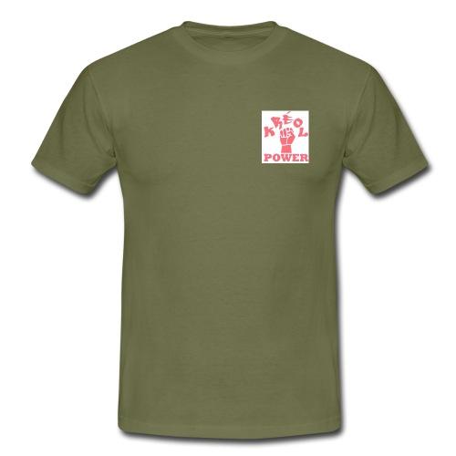 kréol power - T-shirt Homme