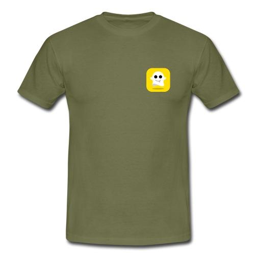 Snapchat Shirt - Mannen T-shirt