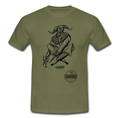 Tattoo Design / tattoo studio / RattatattooZwolle - Mannen T-shirt