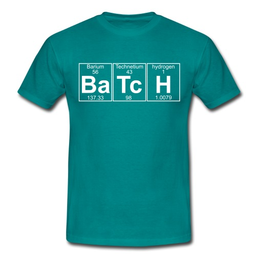 Ba-Tc-H (batch) - Full - Men's T-Shirt