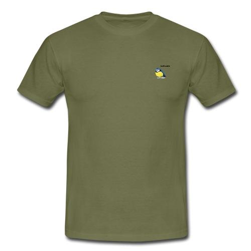Blue tit - Mannen T-shirt