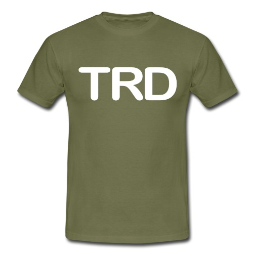 Tauchrevier Deutschland TRD Letter - Männer T-Shirt