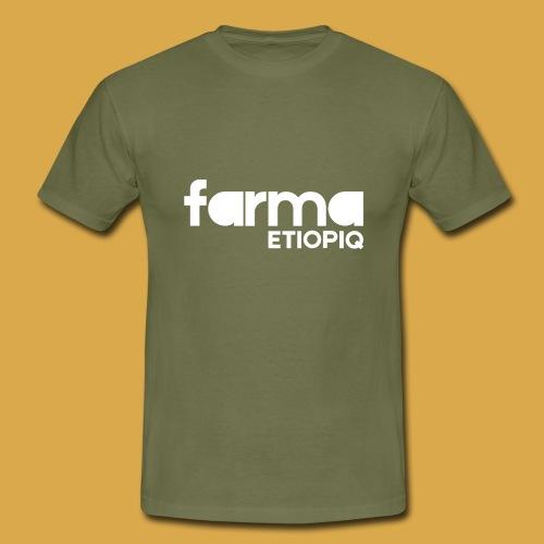 Farma Etiopiq straight logo - T-shirt herr
