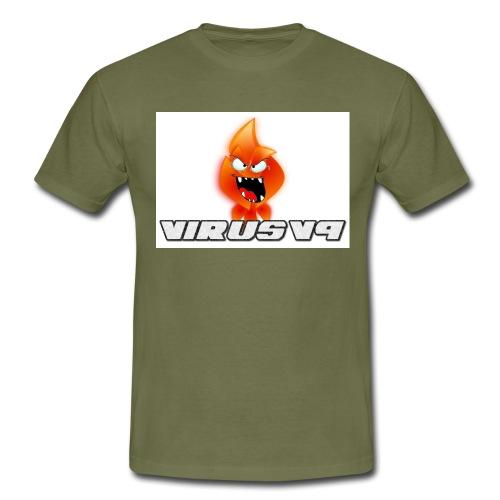 Virusv9 Weiss - Männer T-Shirt