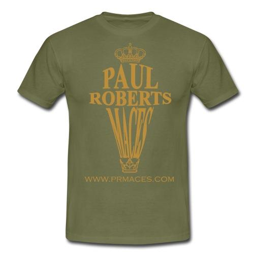 Paul Roberts Maces gold - Mannen T-shirt