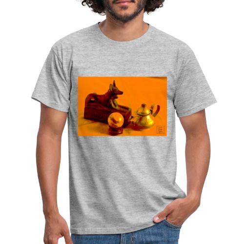 Anubi nel deserto - Maglietta da uomo