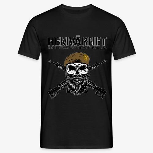 Hemvärnet - Korslagda Ak 4C - T-shirt herr
