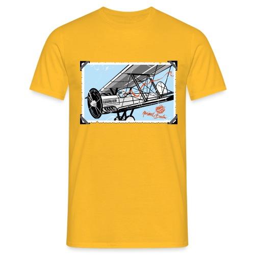 Doppeldecker - Männer T-Shirt