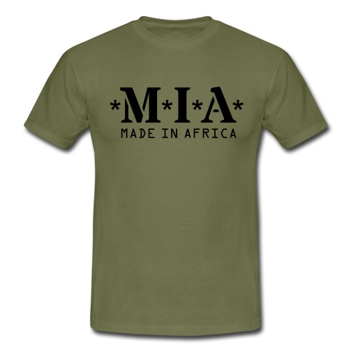 M.I.A. Made In Africa - Men's T-Shirt