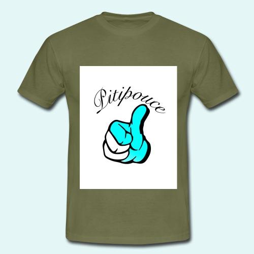 Pouce bleu Pitipouce - T-shirt Homme