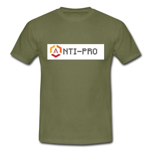 Maglietta Scritta Mario Anti-Pro Semplice - Maglietta da uomo