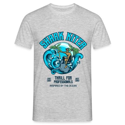 Shark Kitesurfer for professionals - Männer T-Shirt