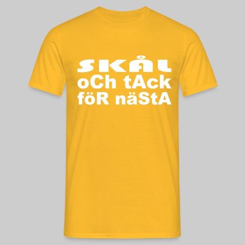 Skål Och Tack - T-shirt herr