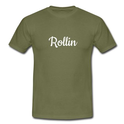 rollin sports t-shirt - Men's T-Shirt