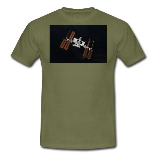 sts130 iss l - Männer T-Shirt