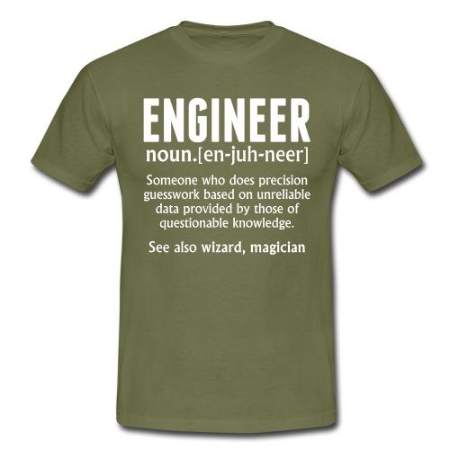 ENGINEER - Men's T-Shirt