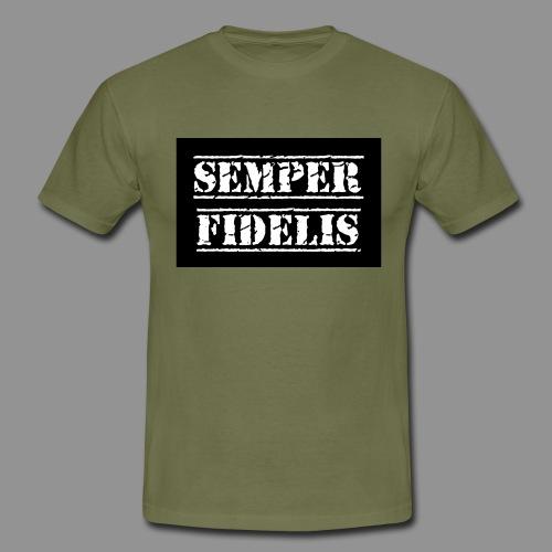 Semper Fidelis Black - Maglietta da uomo