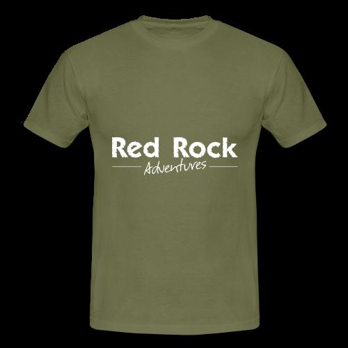 RRA Logo weiss - Männer T-Shirt