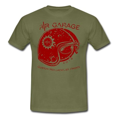 RR Garage Custom Motorcycles - Maglietta da uomo
