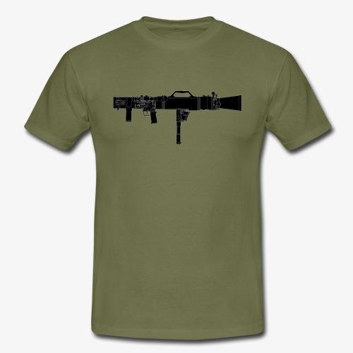 Carl-Gustaf M3 - Granatgevär 8,4 cm m86 - T-shirt herr