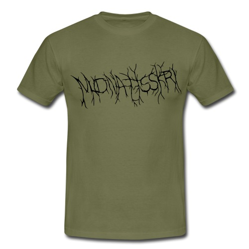 Midnattsskri logga - T-shirt herr