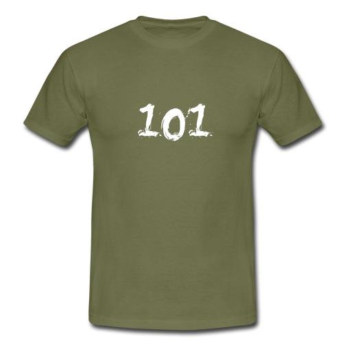 I am the 101 - Mannen T-shirt