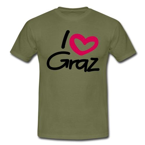 I love Graz. - Männer T-Shirt