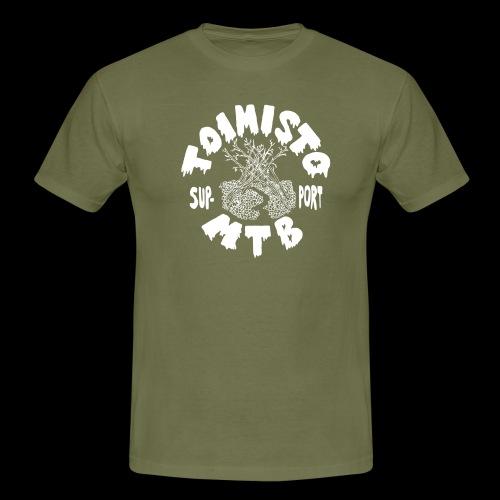 valkone toimisto2support - Miesten t-paita