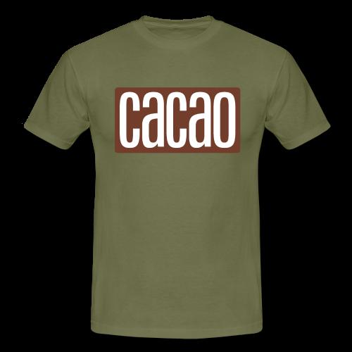 cacao - Männer T-Shirt