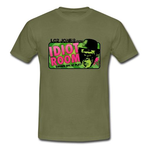 'Idiot Room' Chimp design - Men's T-Shirt