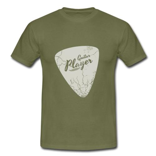 Plektron Guitar Player - Männer T-Shirt