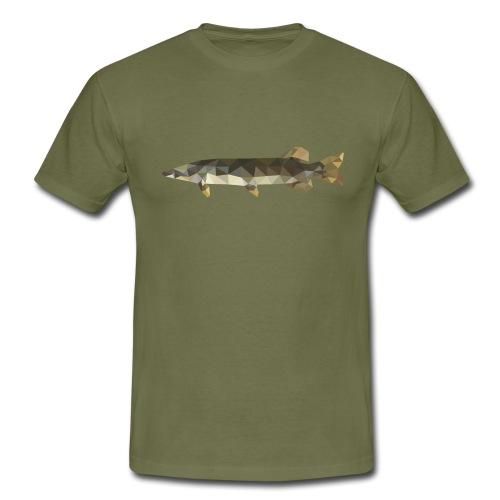 Newstrm Fishing - Regular pike - T-shirt herr