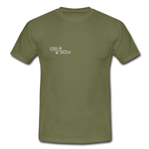 Fenris - White text - Herre-T-shirt