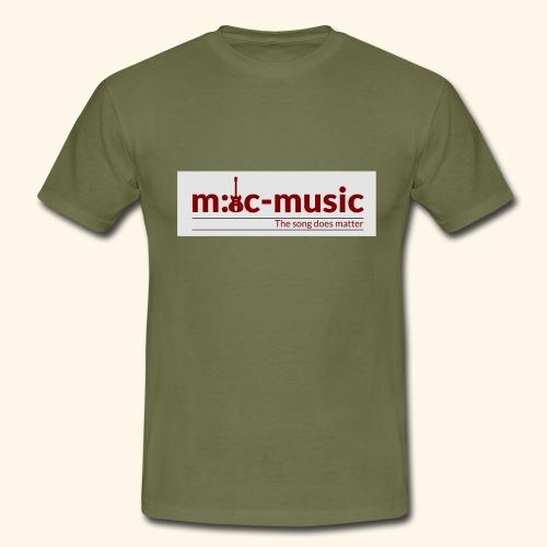mtc music - Männer T-Shirt