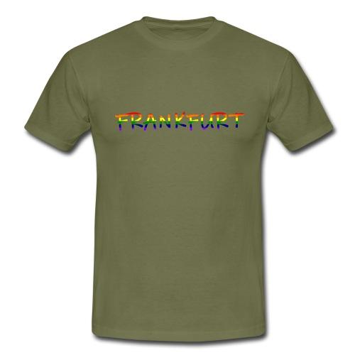 Frankfurt Rainbow #1 - Männer T-Shirt