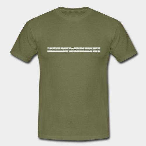 Barcode - Männer T-Shirt