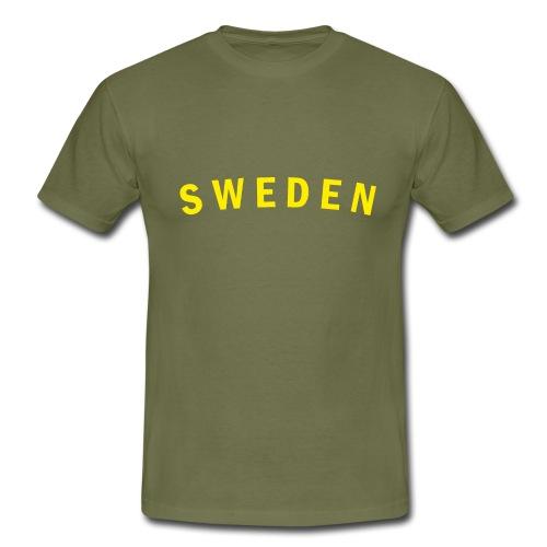 sweden - T-shirt herr