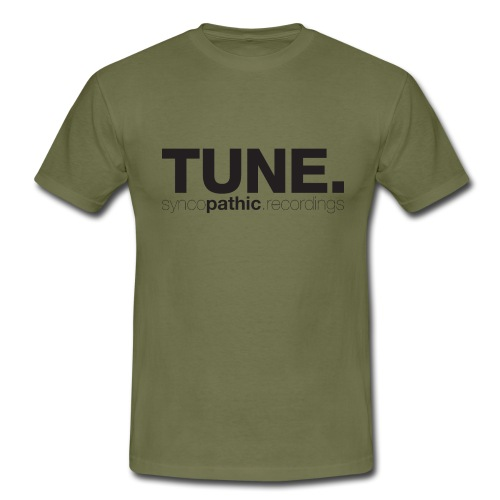 TUNE Black - Men's T-Shirt